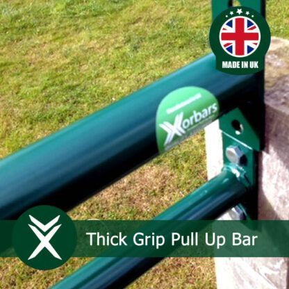 Thick Grip Pull Up Bar