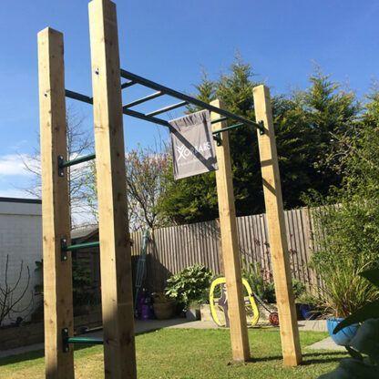 Monkey bars garden