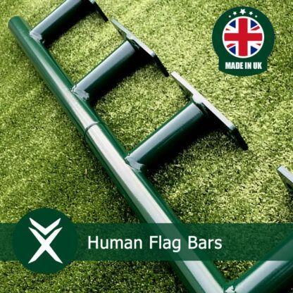 Human Flag Exercise Bars
