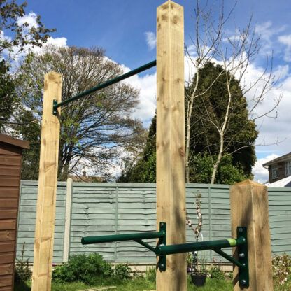 Garden Pull Up and Dip Bars
