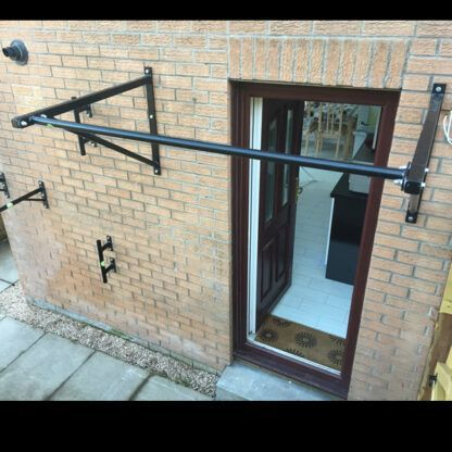 Heavy Duty Wall Mounted Pull Up Bar