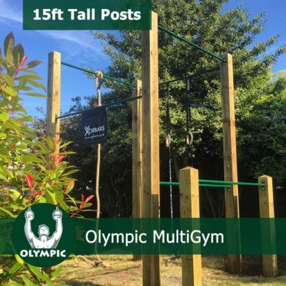 Olympic Ring High Bar Garden
