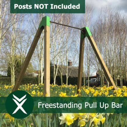 freestanding garden pull up bar