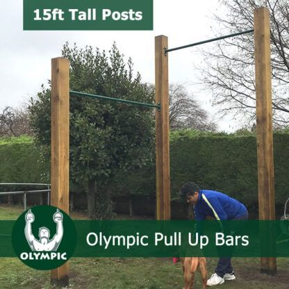 Olympic Ring High Bars Garden