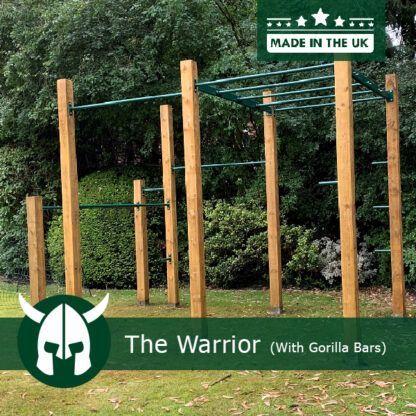 Gorrilla Bars on Warrior Gym